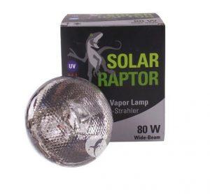 Ampoule HQI UV Solar Raptor 80/100/160W (sans ballast)