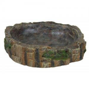 Gamelle eau/nourriture décor mousse 18×4.5×17 cm TRIXIE®