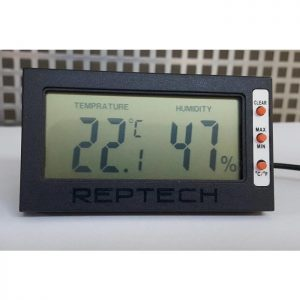 Digital Thermo-Hygromètre DTH002 REPTECH®