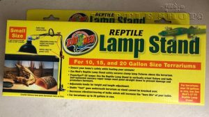 Bras de suspension « LAMP STAND Reptile » ZOOMED®